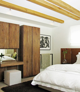 Vacation Home in Aspen, Colorado. Interior Design and Architecture of bedroom